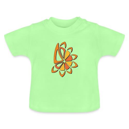 spicchi di sole caldo multicolore - Maglietta per neonato