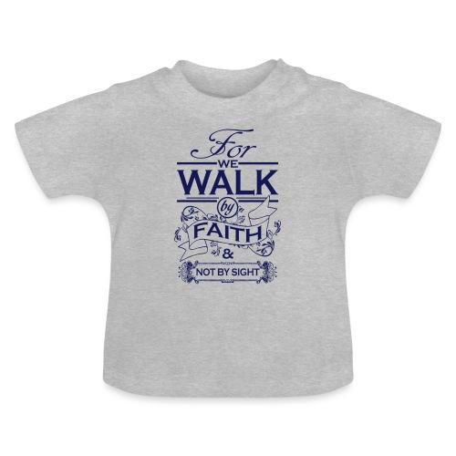 walk navy - Baby T-Shirt