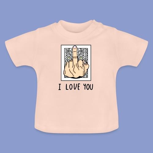 I LOVE YOU - Maglietta per neonato
