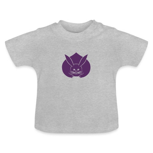 Usagi kamon japanese rabbit purple - Baby T-Shirt