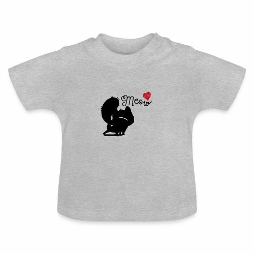 gatto meow - Maglietta per neonato