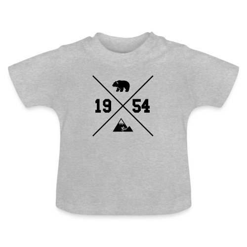 Karhuvuori -baseballhuppari - Vauvan t-paita