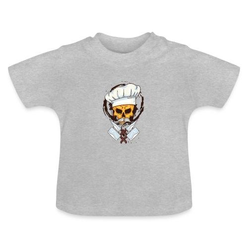Chefkoch Totenkopf - Gekreuzte Messer - Baby T-Shirt