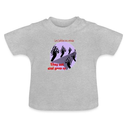 hábitos - Camiseta bebé