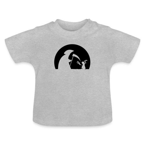 Hase Kaninchen Möhre Tod Sensenmann Karotte bunny - Baby T-Shirt