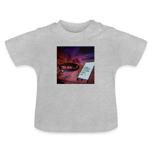 Tel Aviv is calling - Sehnsuchtsorte - Baby T-Shirt