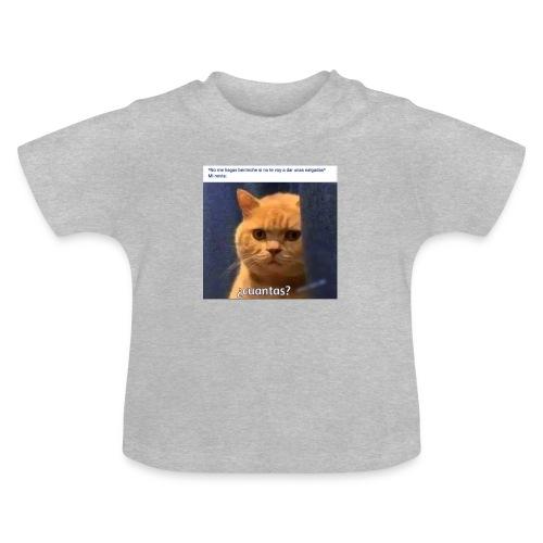 Cat nalgadas - Camiseta bebé