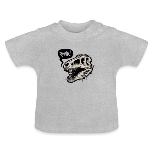 DINO RAWR 1 - Camiseta bebé