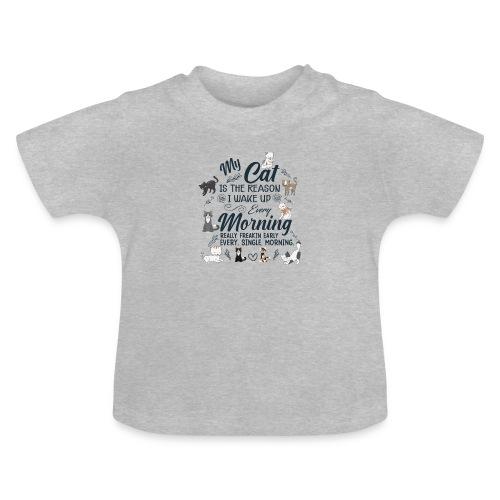 MY CAT - T-shirt Bébé