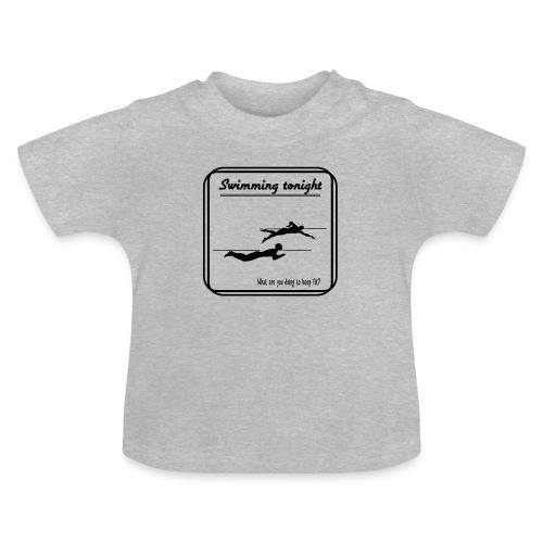 Swimming tonight - Vauvan t-paita