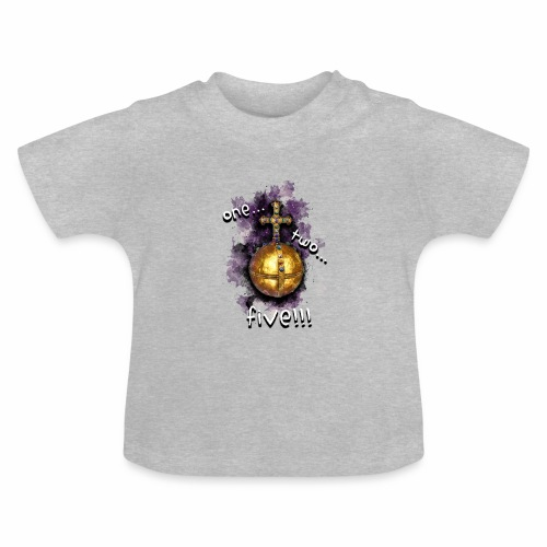 holy hand grenade of antioch - Camiseta bebé