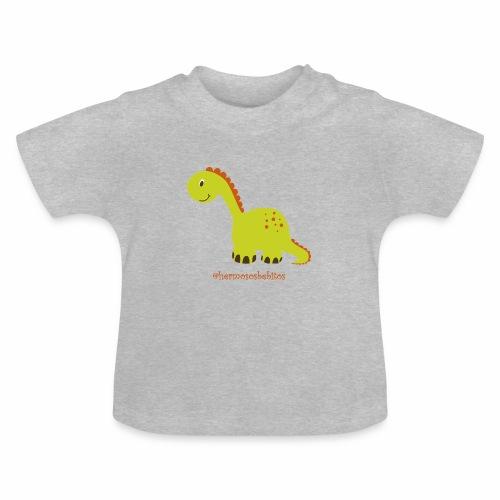 hermosos bebitos dinosaurio - Camiseta bebé