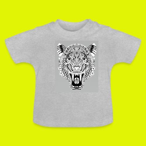mandala tigre - Maglietta per neonato