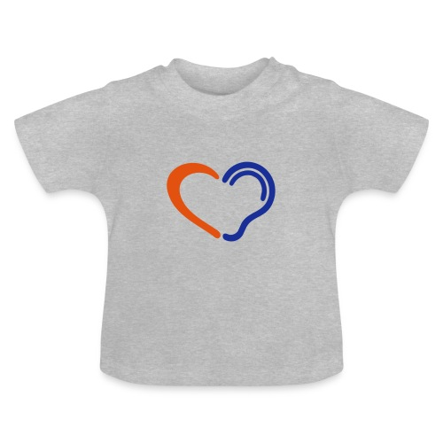 Doven. Slechthorend, doofheid, Limited hearing. - Baby T-shirt