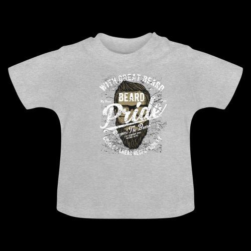 Beard Pride - Stolzer Bartträger - Baby T-Shirt