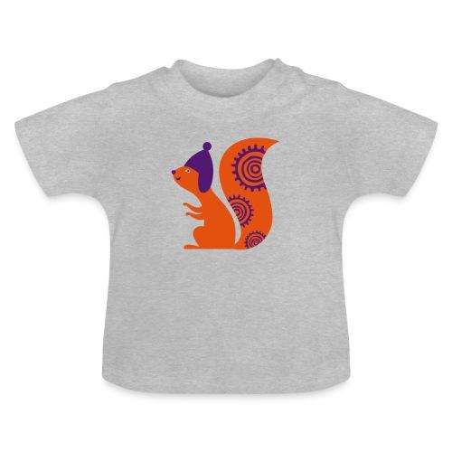 Écureuil avec un bonnet - T-shirt Bébé