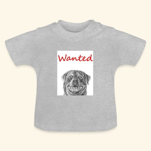 WANTED Rottweiler - Baby T-Shirt