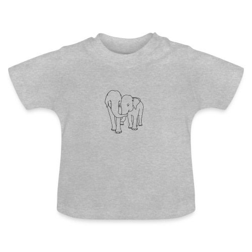 Olifanten - Baby T-shirt