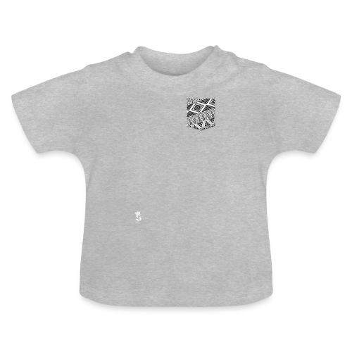 Poche Aztec blanc sur n - T-shirt Bébé