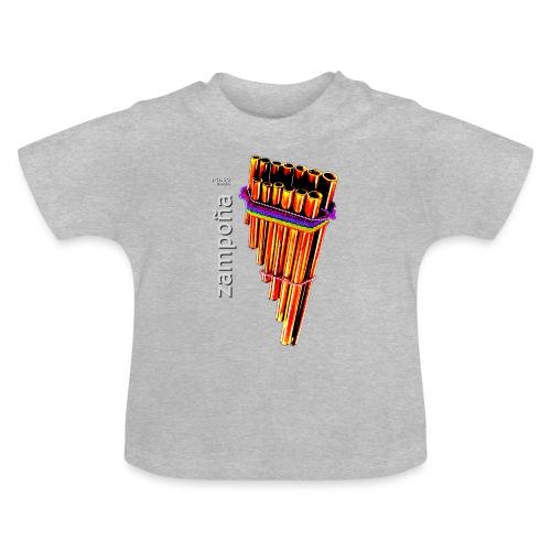 Zampoña clara - Camiseta bebé
