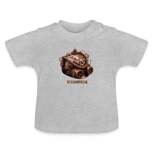 Steampunk Helm Retro Futurismus Gotik - Baby T-Shirt