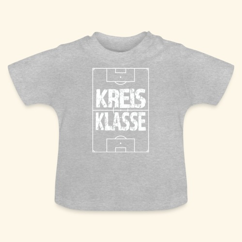 KREISKLASSE im Fußballfeld - Baby T-Shirt