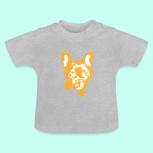 Bulldogge Beige schauend - Baby T-Shirt