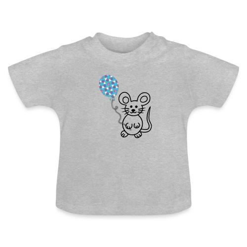 Maus, Luftballon - Baby T-Shirt