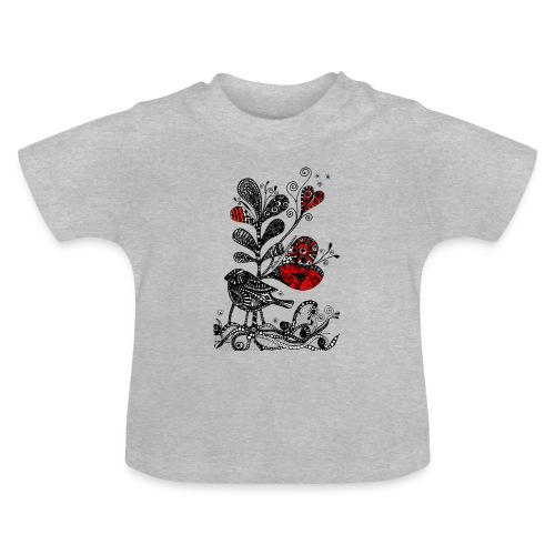 SVogerl mit Herz - Baby T-Shirt
