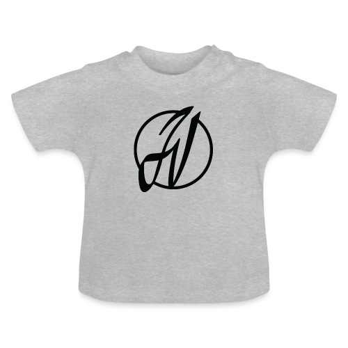 JV Guitars - logo noir - T-shirt Bébé