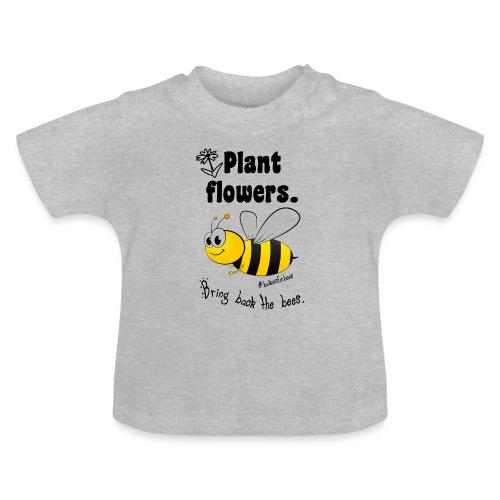 Bees8-1 Bringt die Bienen zurück! | Bookrebels - Baby T-Shirt