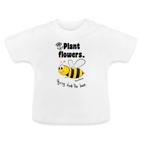 Bees8-2 Bringt die Bienen zurück! | Bookrebels - Baby T-Shirt