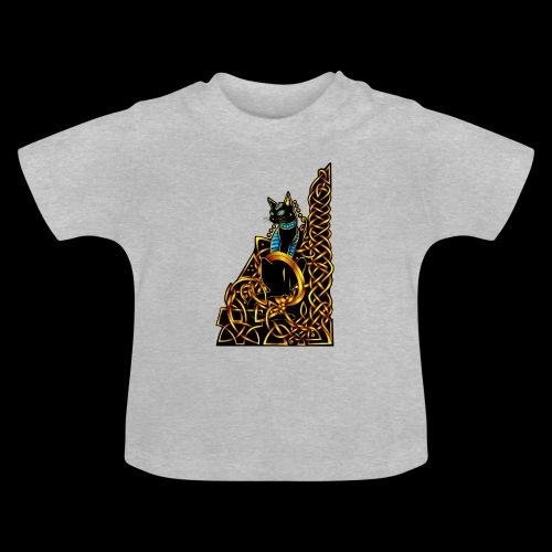 Celtic Cat - sitting - Baby T-Shirt