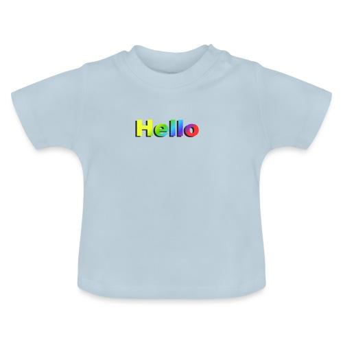 Hello - Koszulka niemowlęca
