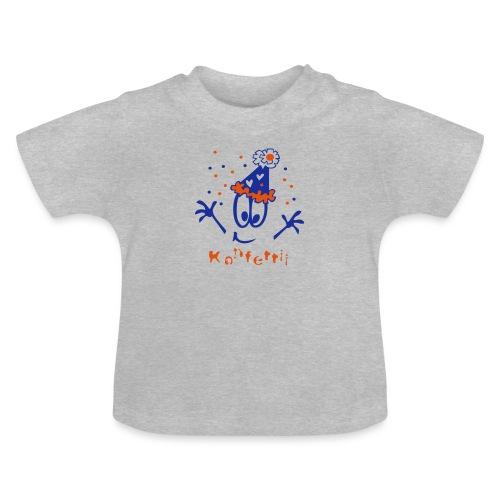 Konfetti und Hütchen - Baby T-Shirt
