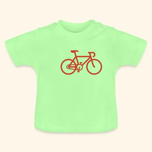 Rennrad, Race-Bike, Fahrrad - Baby T-Shirt