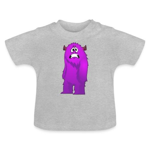 Lila Monster 10 - Baby T-Shirt