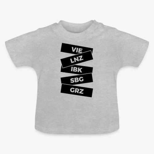 staedte Österreich - Baby T-Shirt
