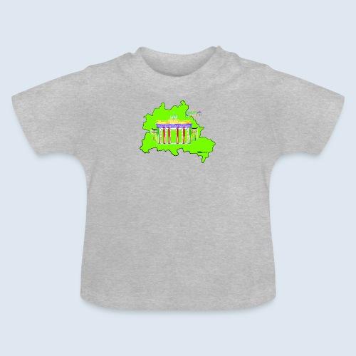 Berlin Original Umriss PopArt ickeshop BachBilder - Baby T-Shirt