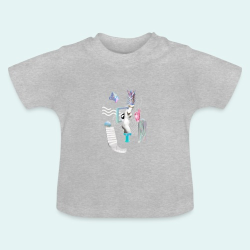 Virtual plaza - Baby T-shirt