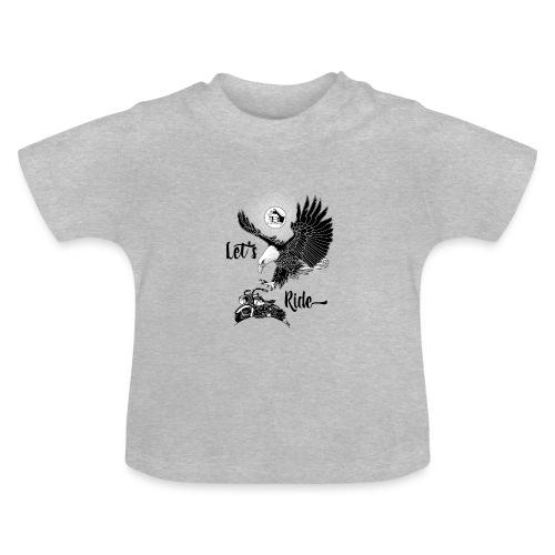 Baldeagle met een panhead - Baby T-shirt