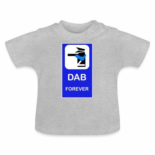 DAB POLICE BLUE - Maglietta per neonato