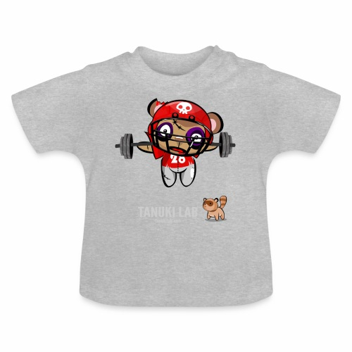 oso deportista - Camiseta bebé