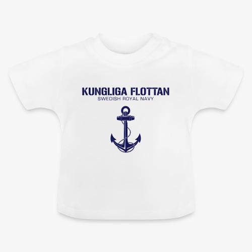 Kungliga Flottan - Swedish Royal Navy - ankare - Baby-T-shirt
