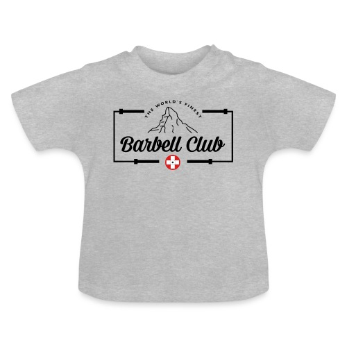 The world's finest Barbell Club _ Frame - Baby T-Shirt