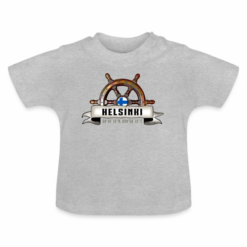 Helsinki Ruori - Merelliset tekstiilit ja lahjat - Vauvan t-paita