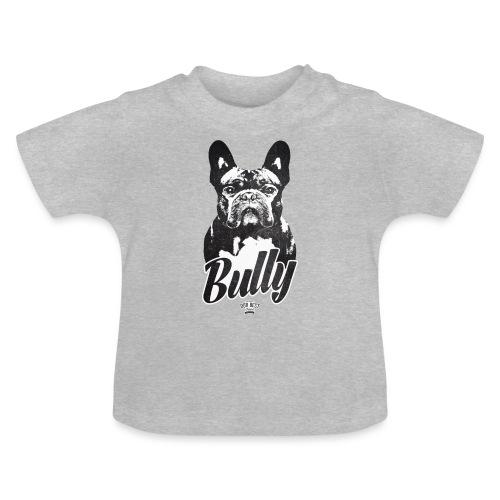 Bully - Französische Bulldogge Silhouette - Baby T-Shirt