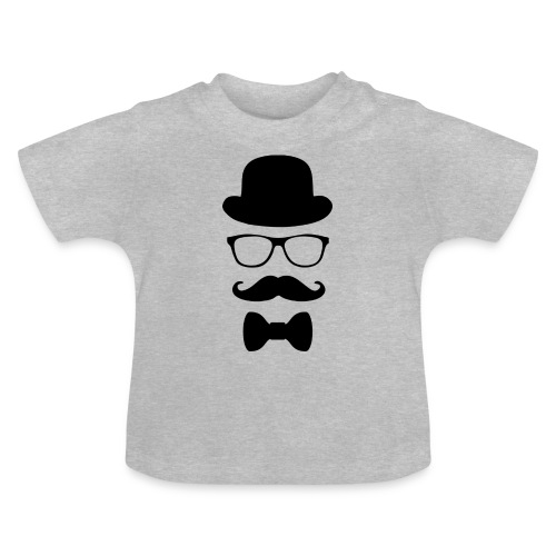 Mann mit Krawatte. - Baby T-Shirt
