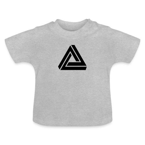 Tribar Dreieck, Unmögliche Figur Optische Illusion - Baby T-Shirt