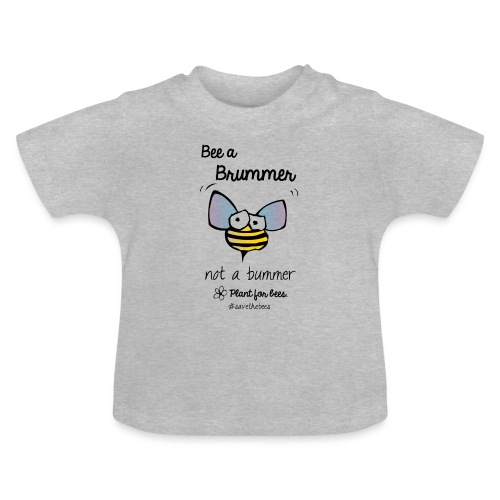 Bees6-2 Save the bees - Baby T-Shirt